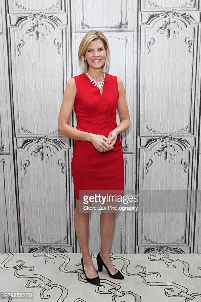 MSNBC anchor Kate Snow attends Build Series to discuss MSNBC Live With Kate Snow at AOL HQ on December 14 2016 in New York City