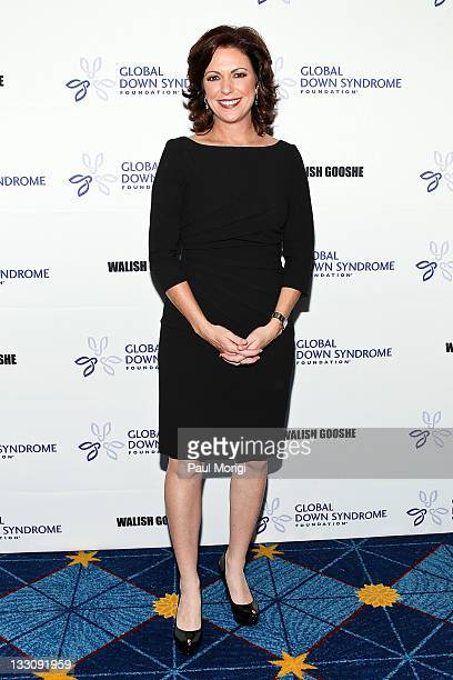 CNN anchor Kyra Phillips arrives at the inaugural 2011 Global Down Syndrome Foundation's Be Beautiful Be Yourself gala at the JW Marriott Hotel on...