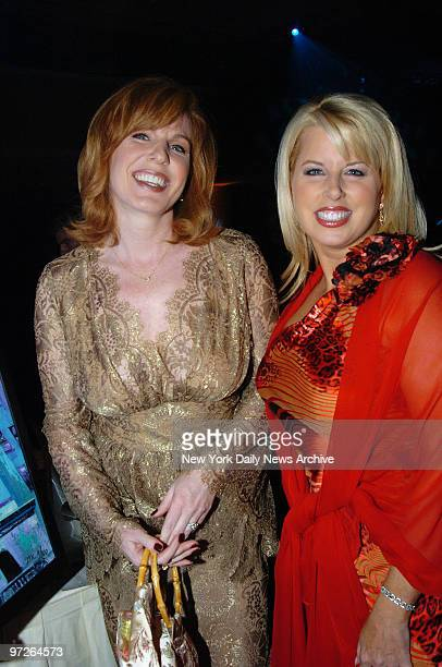 CNBC anchor Liz Claman and MSNBC anchor Rita Crosby cohost the Muscular Dystrophy Association's 6th Annual Wings Over Wall Street benefit gala at the...