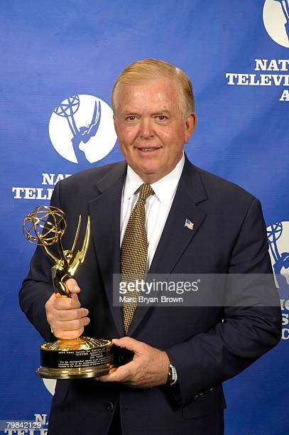 CNN Anchor Lou Dobbs at the 2005 Business and Financial Reporting Emmy Award Ceremony