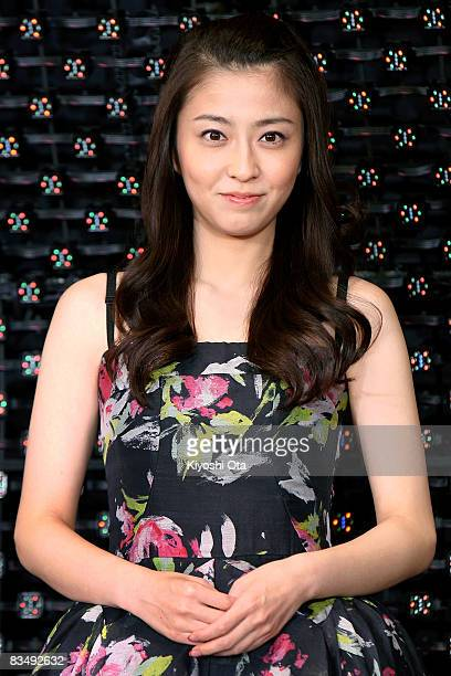 TV anchor Mao Kobayashi attends 'Red Cliff Part 1' PreOpening Gala at Roppongi Hills on October 30 2008 in Tokyo Japan The film will open on November...