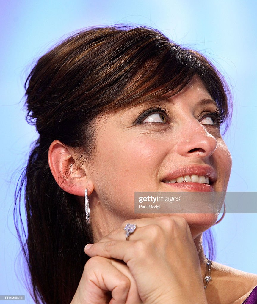 CNBC anchor Maria Bartiromo attends the National Italian American Foundation gala dinner at the Hilton Washington & Towers on October 13, 2007, in Washington, DC.