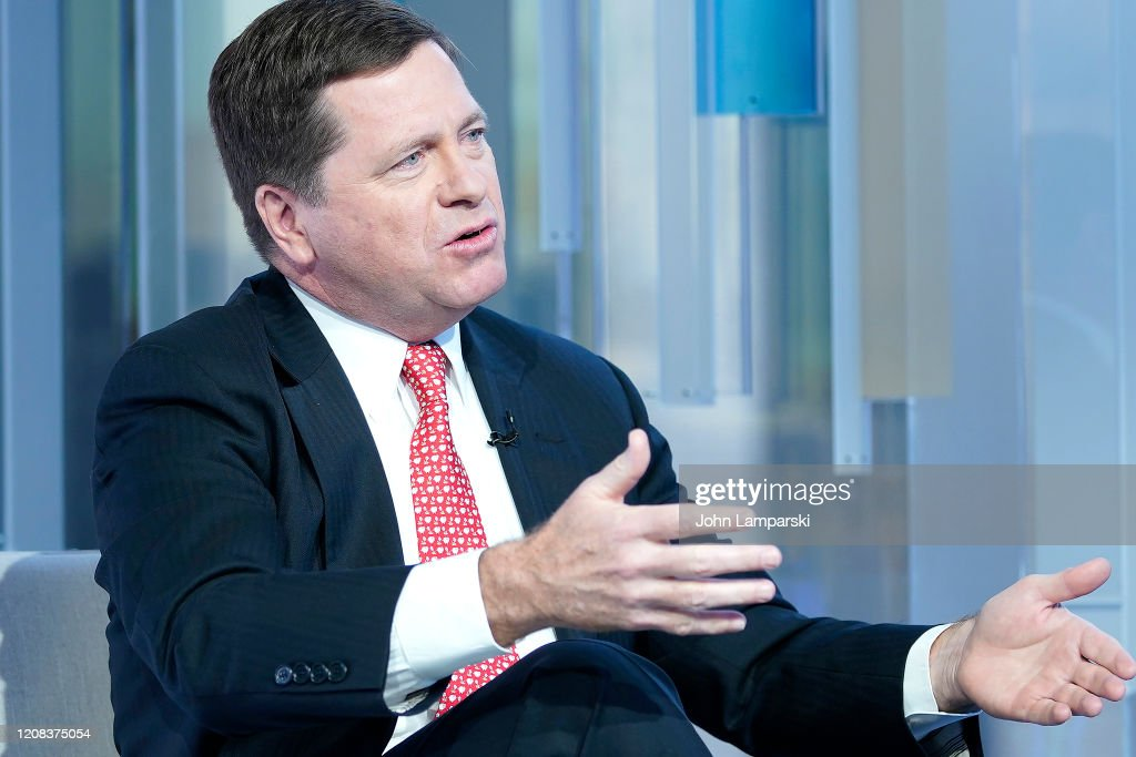 """Chairman Of The U.S. Securities and Exchange Commission Jay Clayton Visits """"Mornings With Maria"""" : News Photo"""