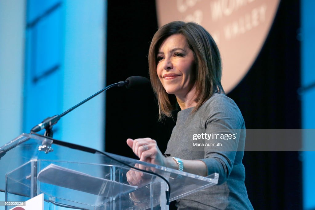 Anchor, NBC Bay Area, Jessica Aguirre speaks onstage at the