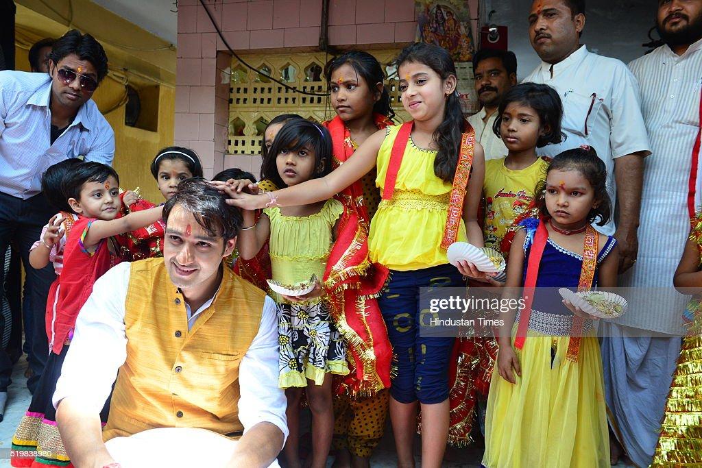Anchor of TV serial 'Bhakton ki Bhakti mein shakti' Sourabh