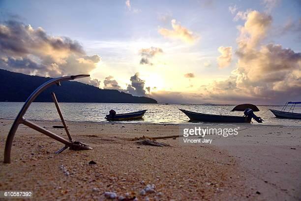 Anchor on sand