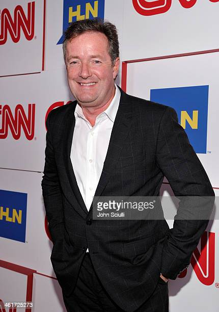 Anchor Piers Morgan attends the 2014 TCA Winter Press Tour CNN AfterParty on January 10 2014 in Pasadena California
