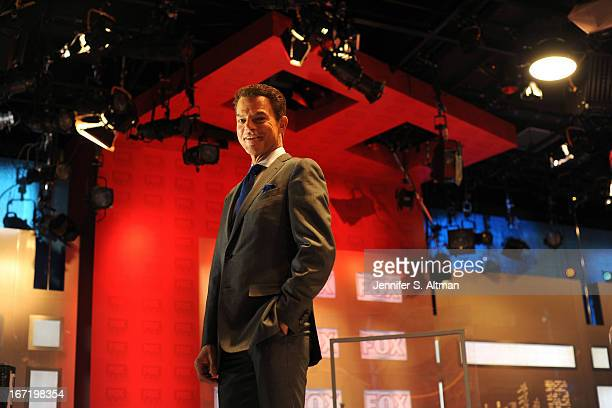 TV anchor Shepard Smith is photographed for Los Angeles Times on March 18 2013 in his studio at Fox News in New York City PUBLISHED IMAGE