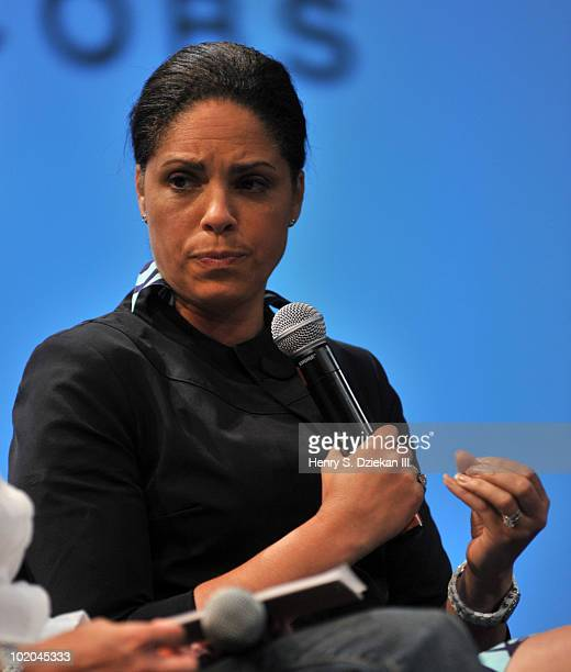 CNN anchor Soledad O'Brien attends a screening and QA for Gary And Tony Have A Baby a new documentary in the CNN series In America at SVA Theater on...