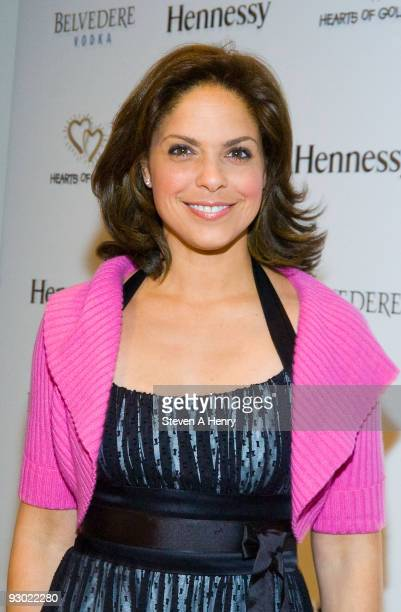 CNN anchor Soledad O'Brien attends the 13th annual Hearts of Gold gala at the Metropolitan Pavilion on November 12 2009 in New York City