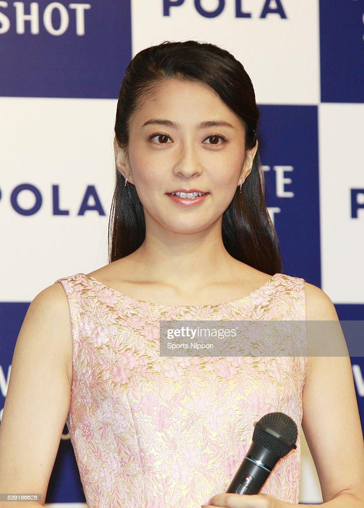 Mao Kobayashi Attends PR Event In Tokyo : News Photo