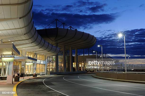 Anchorage International Airport at Night