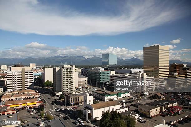 Vue panoramique d'Anchorage