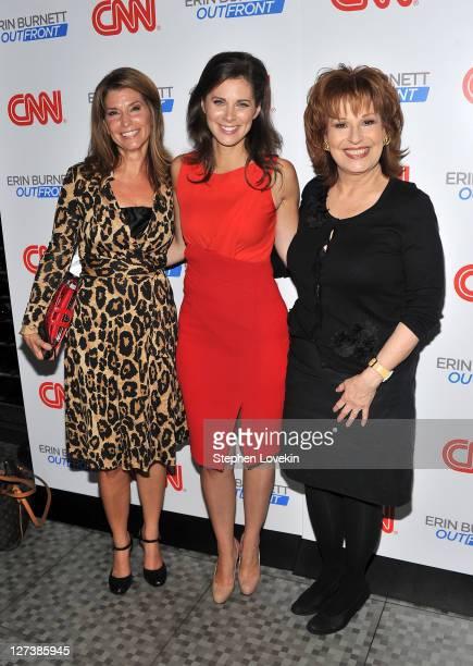"Anchor/corresopondent Carol Costello, CNN anchor/correspondent Erin Burnett and TV personality Joy Behar attend the launch party for CNN's ""Erin..."