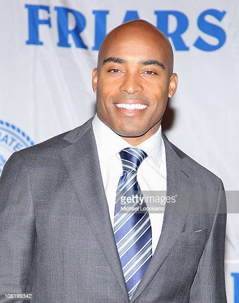 Anchorman Tiki Barber attends his roast by the Friars Club at the New York Hilton on October 24 2008 in New York City