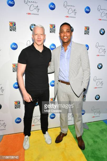 Anchors Anderson Cooper and Don Lemon attend QUEER CITY A CNN Experience on June 27 2019 in New York City 622001