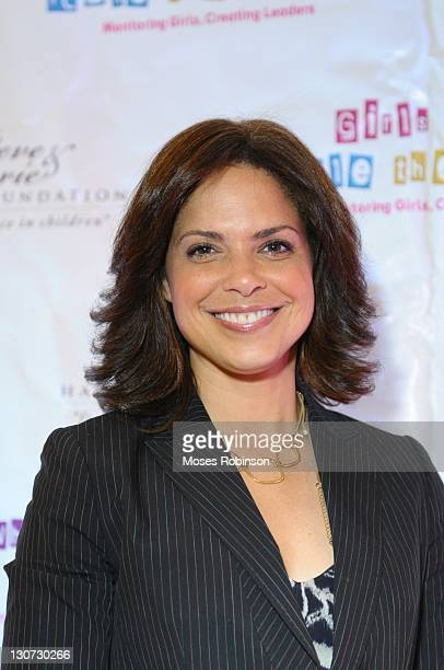 Anchorwoman Soledad O'Brien attends The Steve Marjorie Harvey Foundation's 2nd annual Girls Who Rule The World Mentoring Weekend Day 1 at Evergreen...