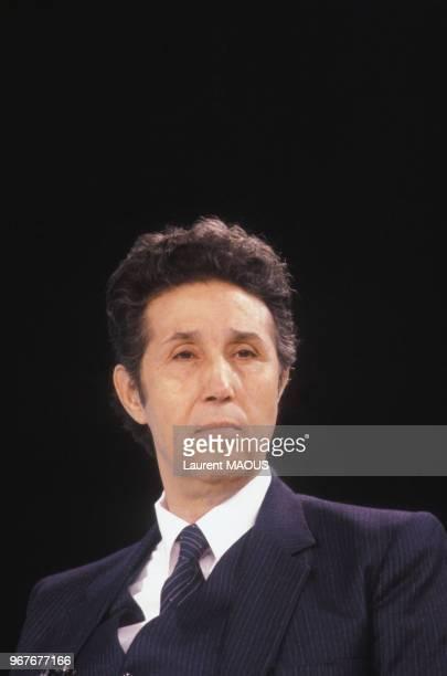 L'ancien président Ahmed Ben Bella le 17 septembre 1981 en Algérie