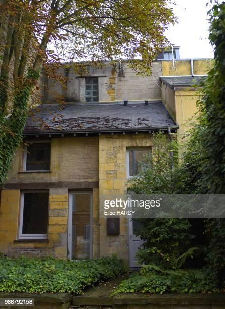 Ancienne du poète Arthur Rimbaud dans le Musée Rimbaud 22 septembre 2015 CharlevilleMézières Ardennes France