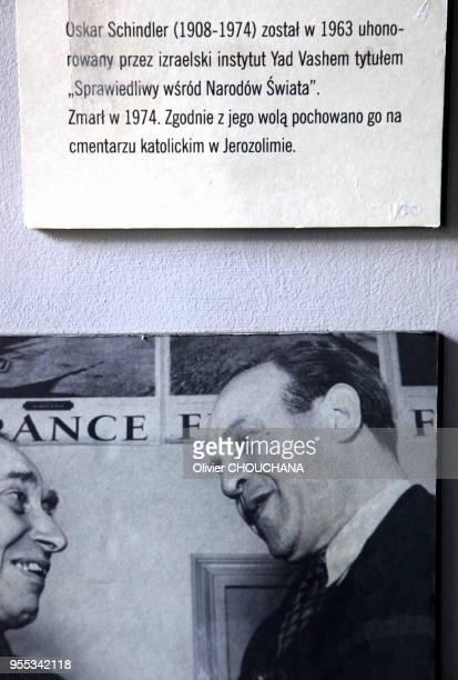 Ancienne usine reconvertie en musee du celebre Oskar Schindler, l'industriel allemand membre du parti nazi, qui sauva pendant la seconde guerre...