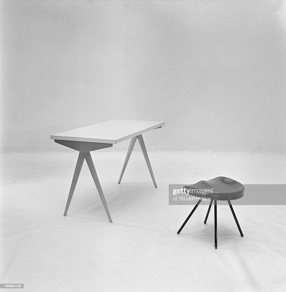 Ancient And Modern Furniture In The Fifties