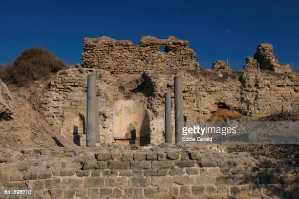 Ancient Ashkelon ruins