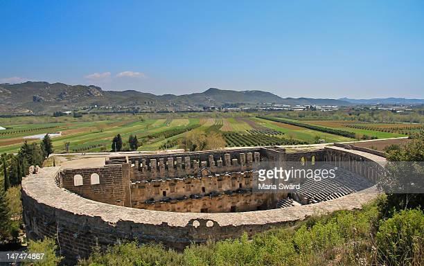 Ancient Aspendos Roman Times Turkey
