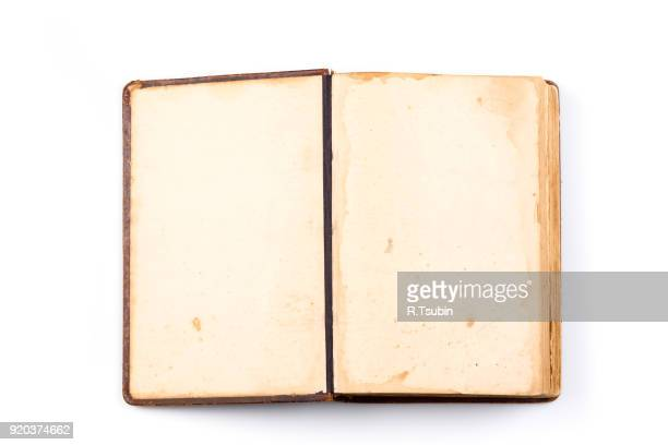 ancient book shot - open book stock photos and pictures