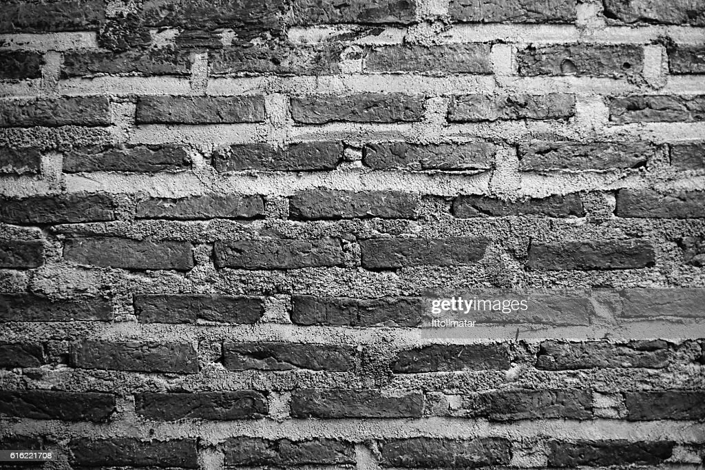 ancient Brick wall texture and background : Stock Photo