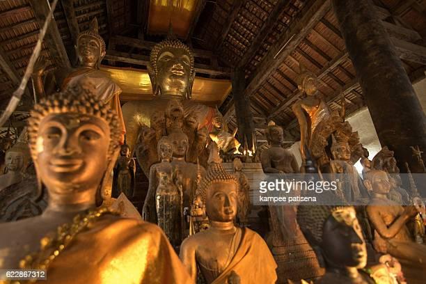 Ancient Buddhist Temple Wat Maak Mong, Luang prabang, laos