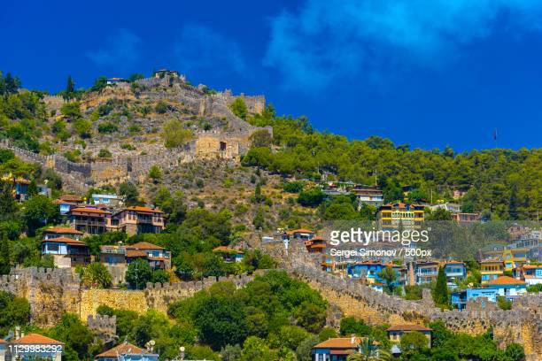 Ancient Castle In Alanya