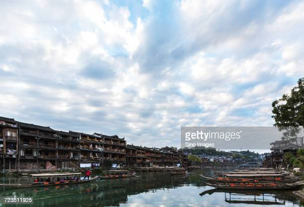 Ancient Chinese town, Fenghuang, Hunan, China
