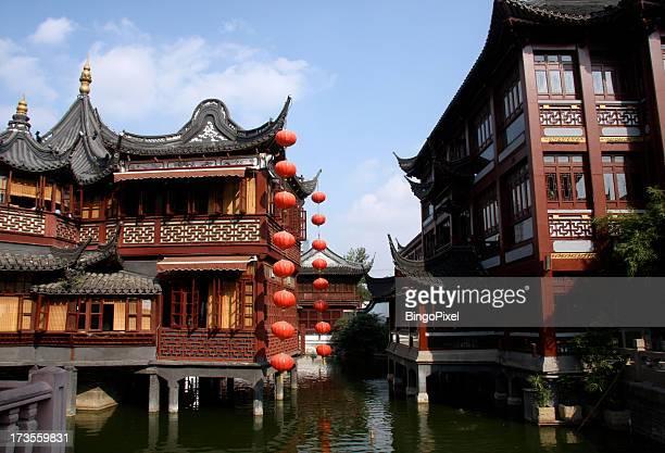 Ancient Chinese Yu Yuan Garden