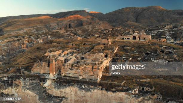 ancient city hasankeyf, batman, turkey - ancient history stock pictures, royalty-free photos & images