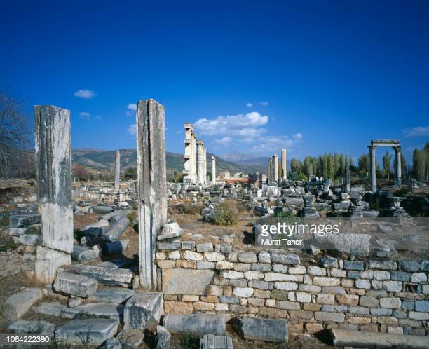 ancient city of aphrodisias - national landmark stock pictures, royalty-free photos & images