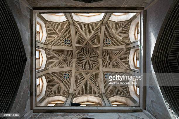 Ancient dome of Jameh mosque of Isfahan, Iran