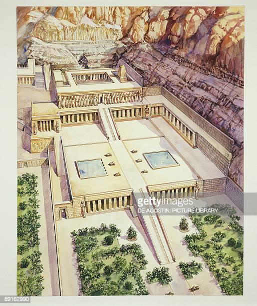 Ancient Egypt Dayr alBahri Temple of Hatshepsut