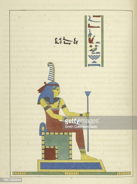 Ancient Egyptian goddess Maat holding the ankh and the scepter ancient Egyptian concepts of truth balance order harmony law morality and justice...