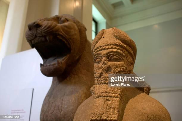 Ancient Egyptian sculptures, British Museum.