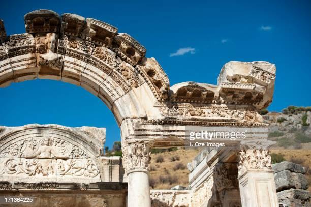 ancient ephesus, aegean turkey - ephesus stock pictures, royalty-free photos & images