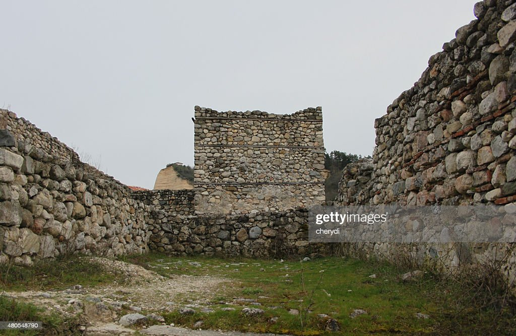 Ancient fortress : Stock Photo