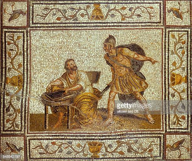 Ancient Greece Archimedes Mathematician and physicist of ancient Greece around 287 212 BC The death of Archimedes Roman mosaic from the imperial age...