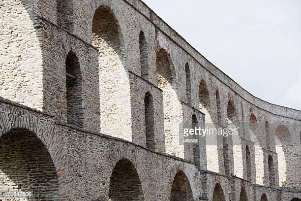 Ancient Greek auqeduct.