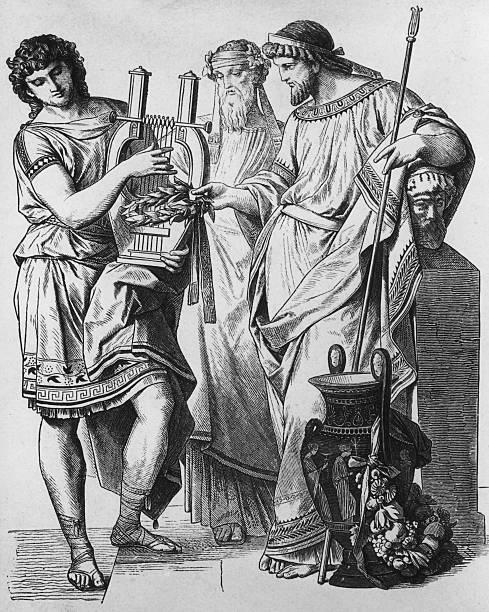 Ancient Greek Music Wall Art