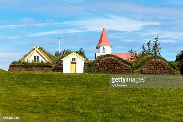 古代の家屋 glaumbaer - fotofojanini ストックフォトと画像