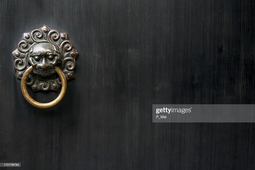 Ancient Knocker : Stock Photo