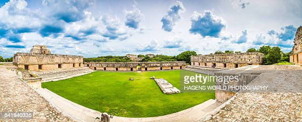 Ancient Maya city of Uxmal - Mexico