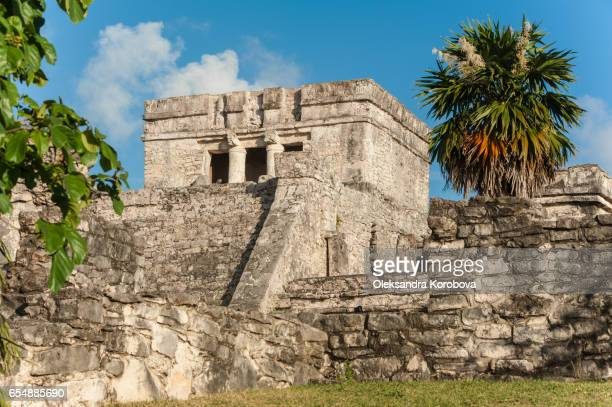 Ancient Mayan ruins at Tulum.
