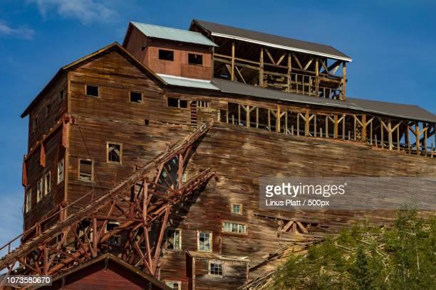Ancient Mine Building Kennicott Alaska