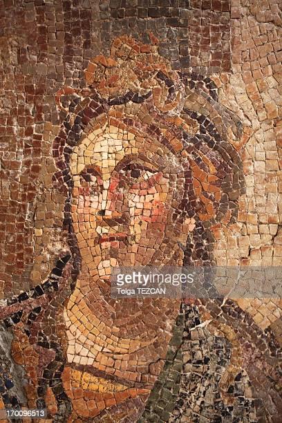Ancient mosaics in Antakya (Hatay), Turkey